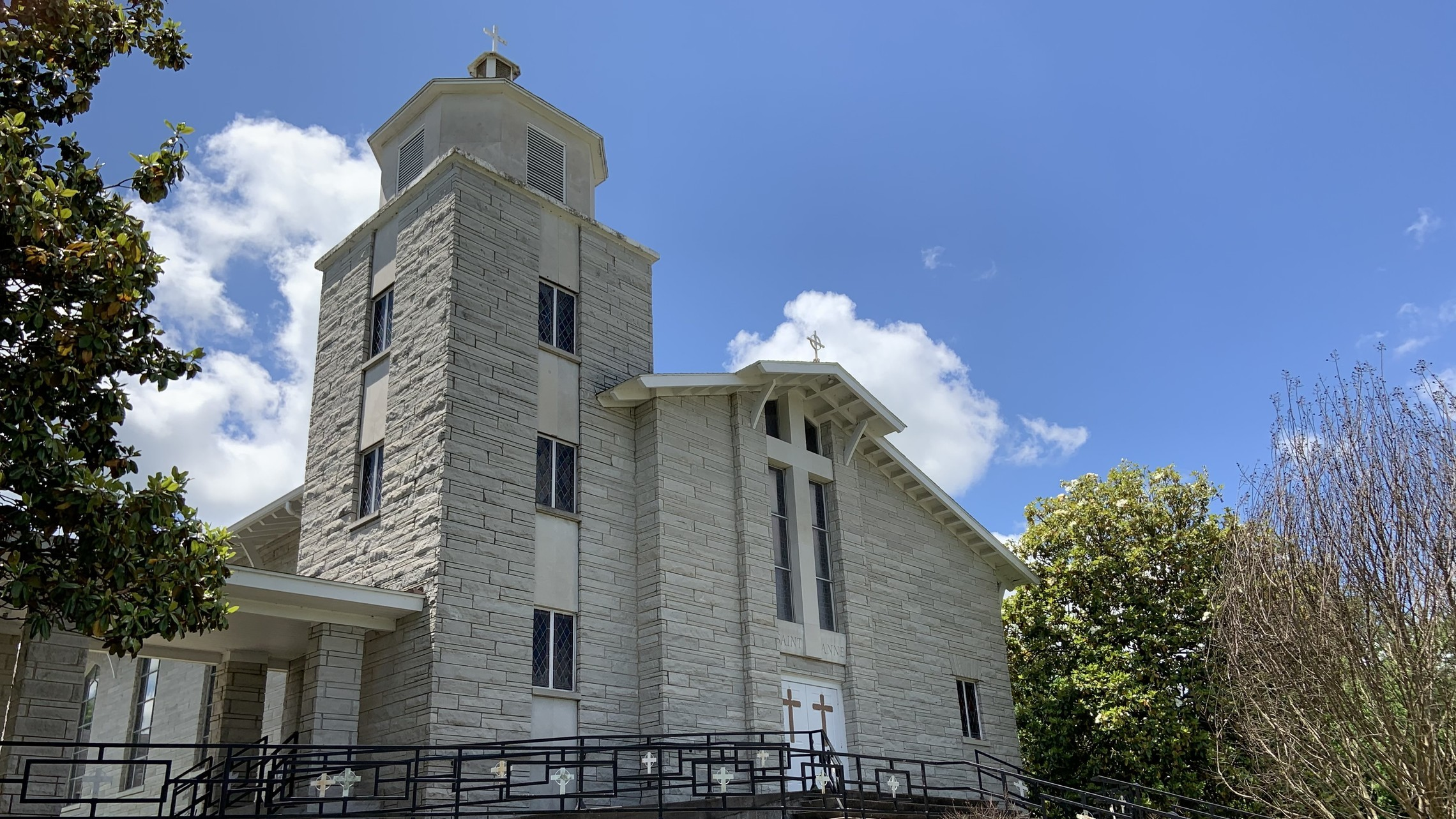 Left Angle of Church
